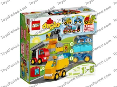 LEGO 10816 My First Cars and Trucks Set Parts Inventory and ...