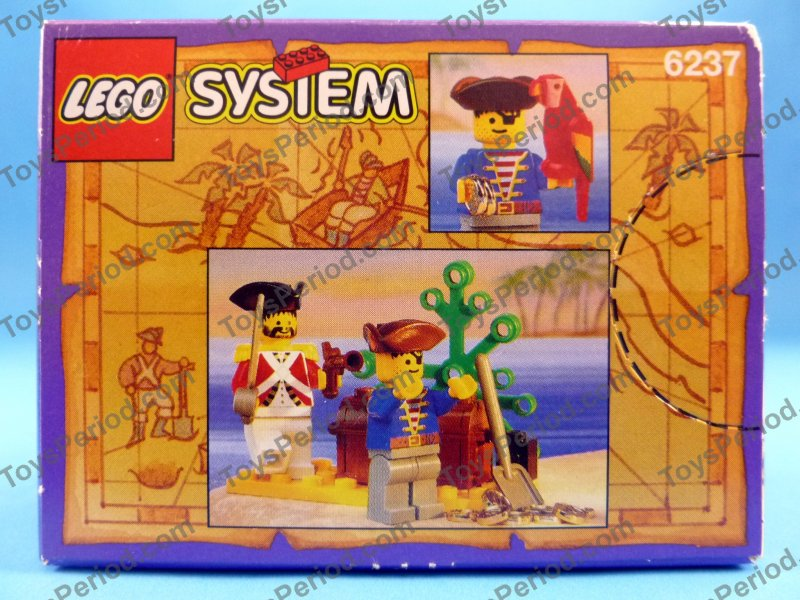 LEGO 6237 Pirates' Plunder Vintage 93 Pirate Minifig Set New