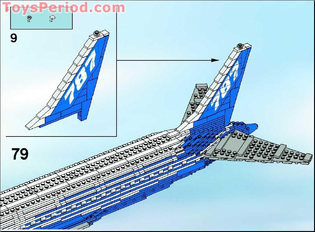 lego boeing 747 instructions
