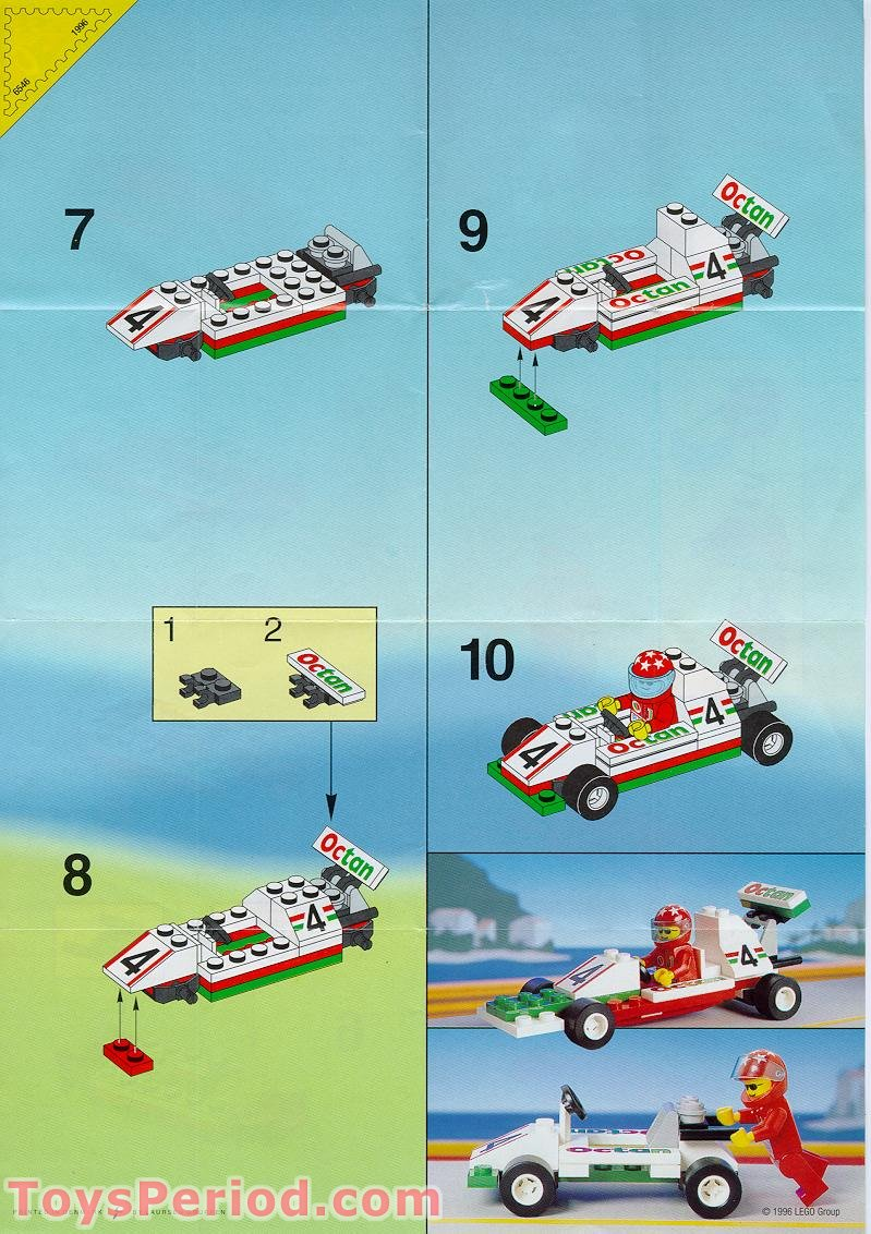Lego 6546 Slick Racer Set Parts Inventory And Instructions Lego