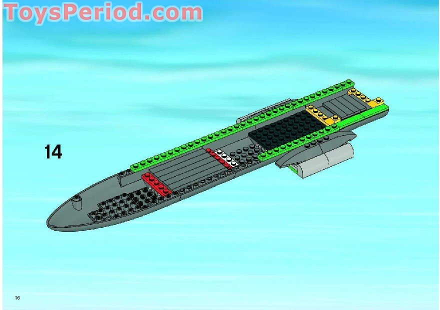 Lego 7734 Cargo Plane Set Parts Inventory And Instructions Lego