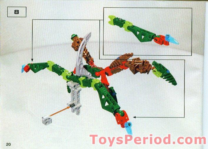 Lego 8746 Visorak Keelerak Set Parts Inventory And