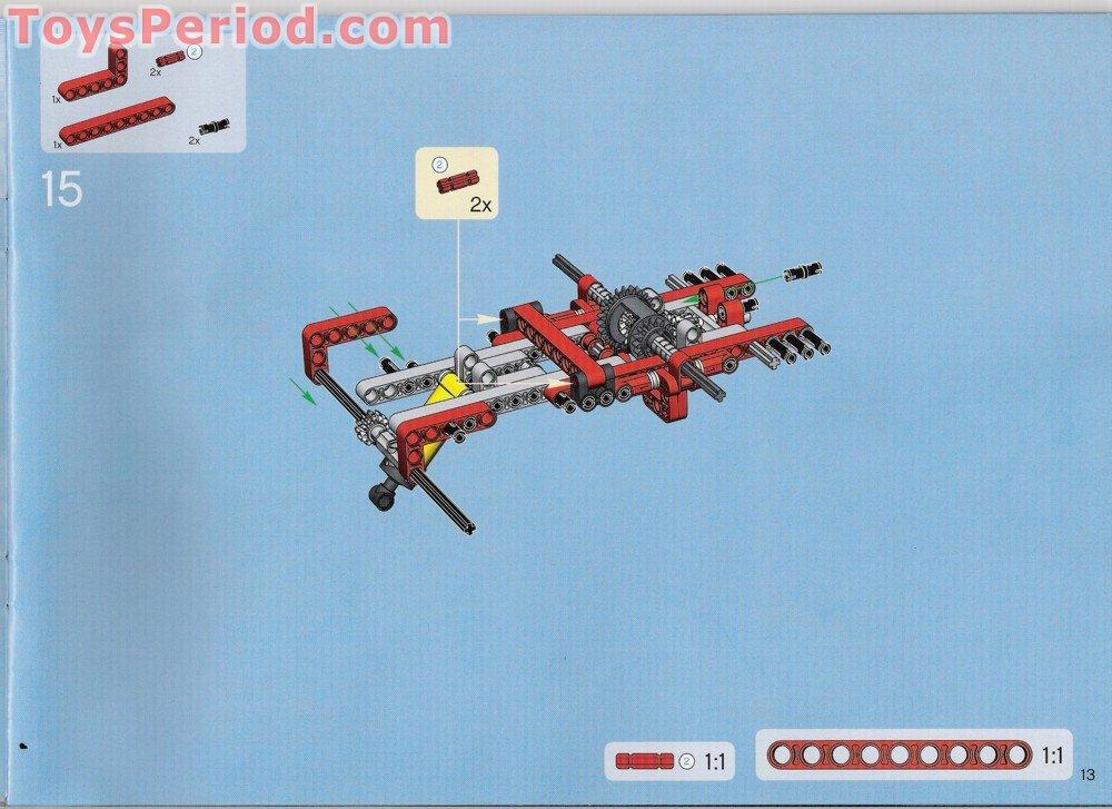 lego technic 8285 instructions
