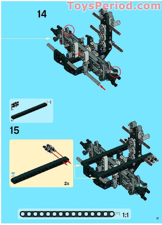LEGO technic DkStone Panel Fairing 22 /& 23 ref 44352 /& 44353 8297 Off-Roader