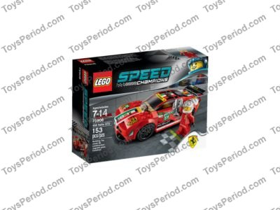 LEGO 75908 458 Italia GT2 Set Parts Inventory and Instructions ...