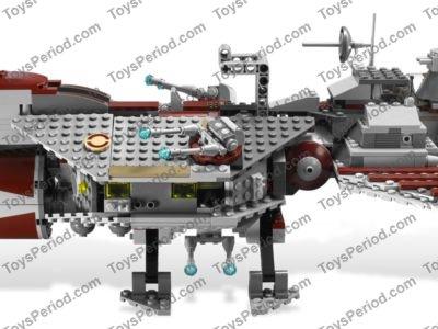 Missing Lego Brick 6632 DkRed x 4 Technic Beam 3 x ½ Liftarm