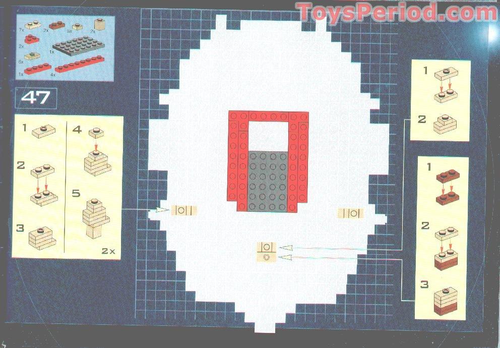 lego darth maul bust instructions