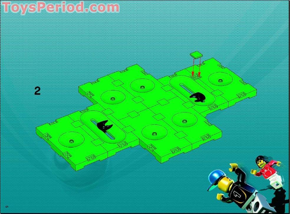 lego soccer field instructions