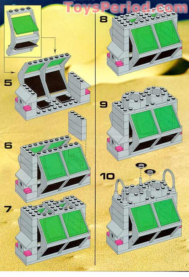 Lego 6940 Alien Moon Stalker Set Parts Inventory And