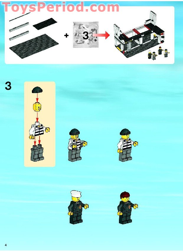 Lego Instruction Manuals 30241 Owners Manual Book