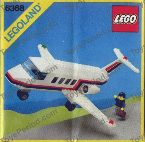 Lego 6368 Jet Airliner Set Parts Inventory And Instructions Lego