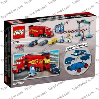 LEGO 10745 Florida 500 Final Race Set Parts Inventory and