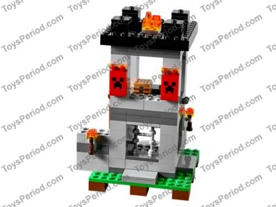 lego minecraft fortress instructions