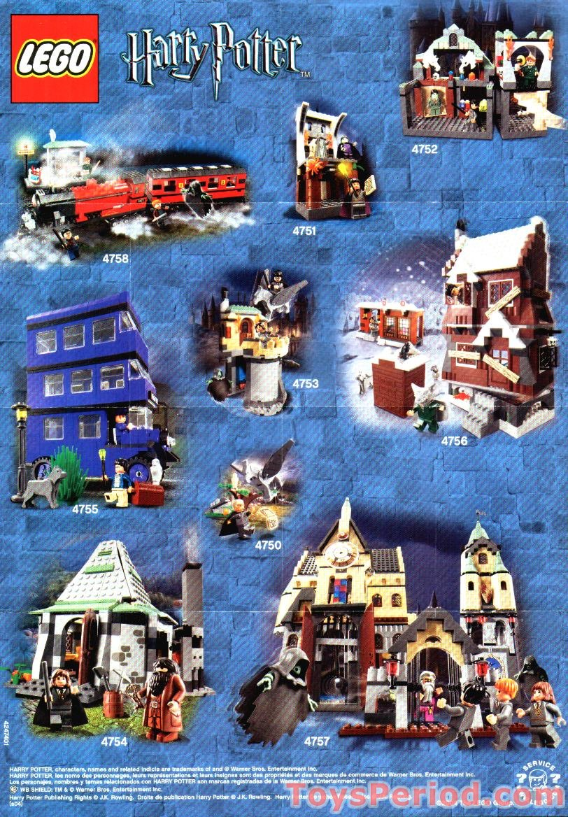 Lego 4695 Knight Bus Mini Set Parts Inventory And Instructions