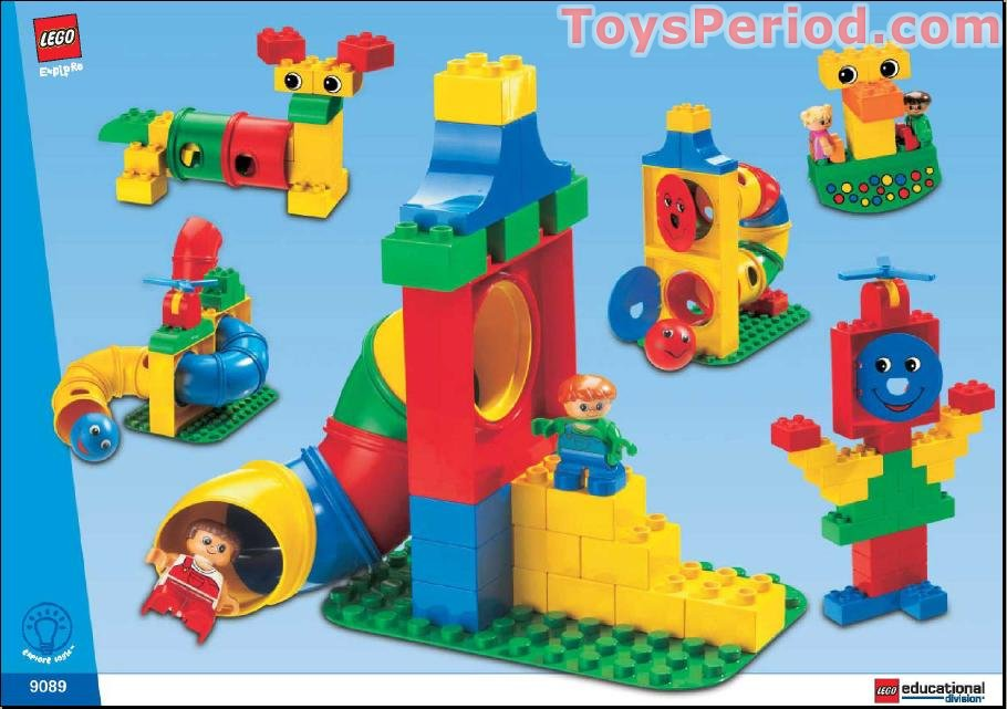 Smile Educational Toys : Lego tubes experiment set parts inventory and