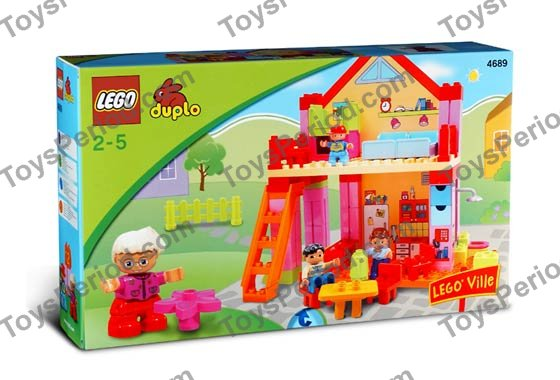 lego 4689 playhouse set parts inventory and instructions. Black Bedroom Furniture Sets. Home Design Ideas