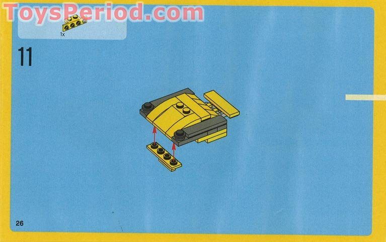 Instructions To Build Cool Lego Car