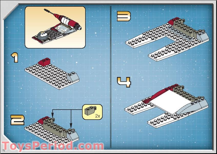 lego star wars 7676 instructions