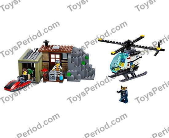 NEW Lego Army Minifig Headgear Space Hat w// VISOR Dark Bluish Gray