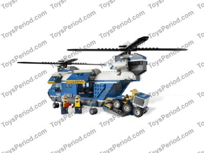 LEGO 4439 Heavy-Duty Helicopter Set Parts Inventory and Instructions ...