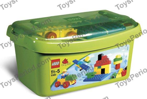 Blue 4 Lego Duplo Bricks 2 X 8 X 1