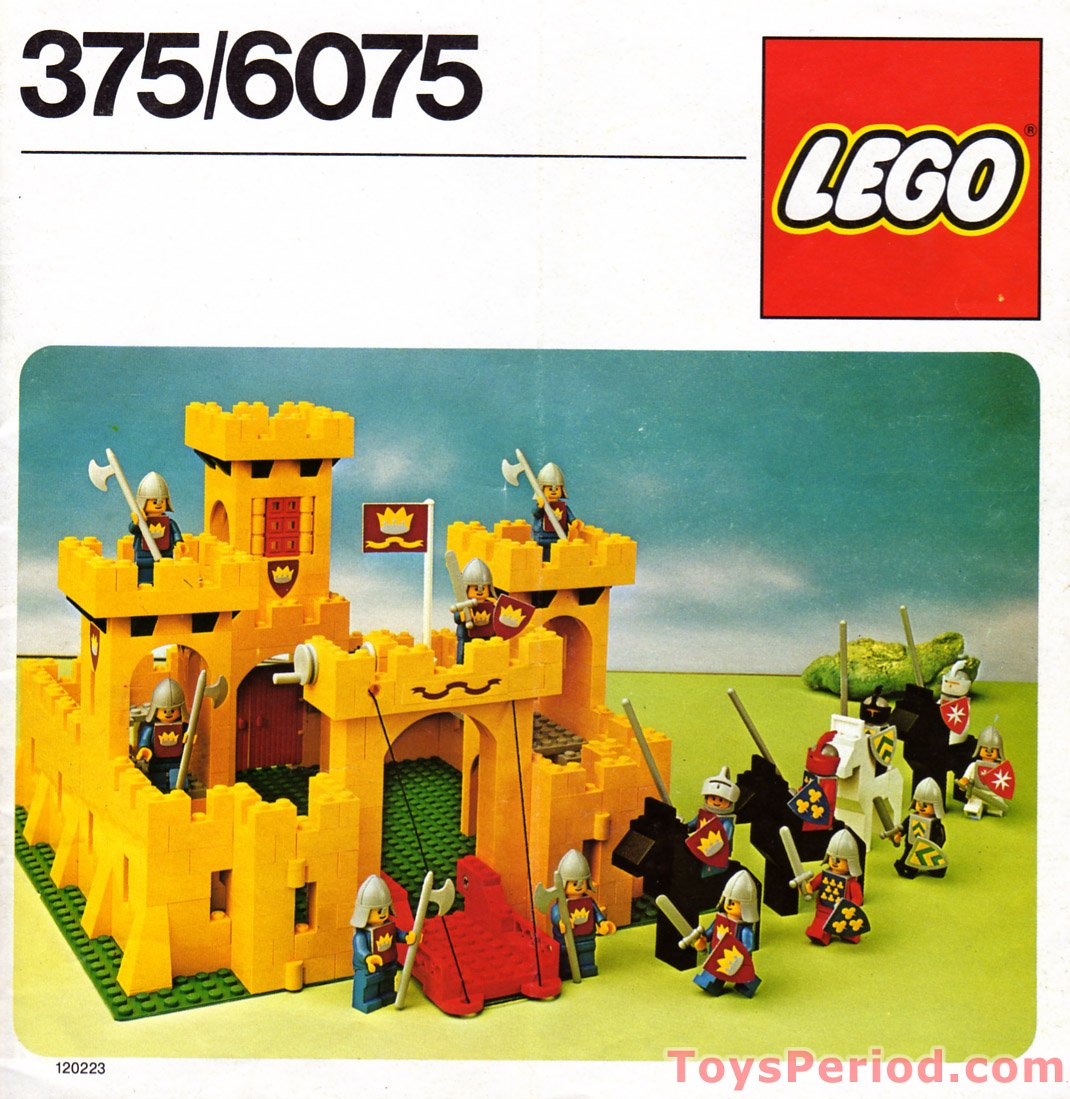 Lego 6075 2 Castle Set Parts Inventory And Instructions Lego