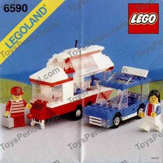 lego friends camper instructions