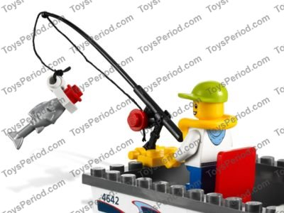 Lego 4642 Fishing Boat Set Parts Inventory And Instructions Lego