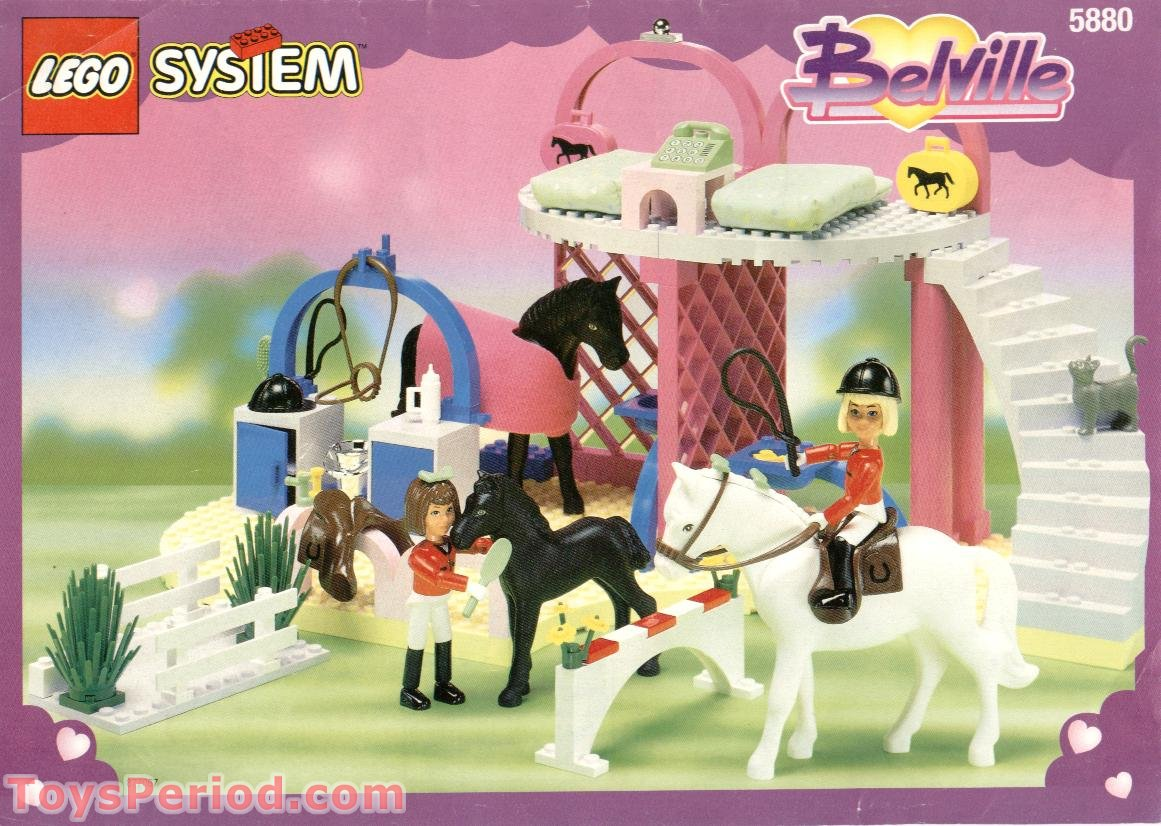 Lego 5880 Prize Pony Stables Set Parts Inventory And
