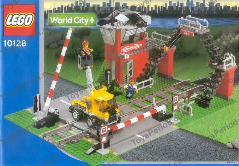 Lego 10128 Train Level Crossing Set Parts Inventory And