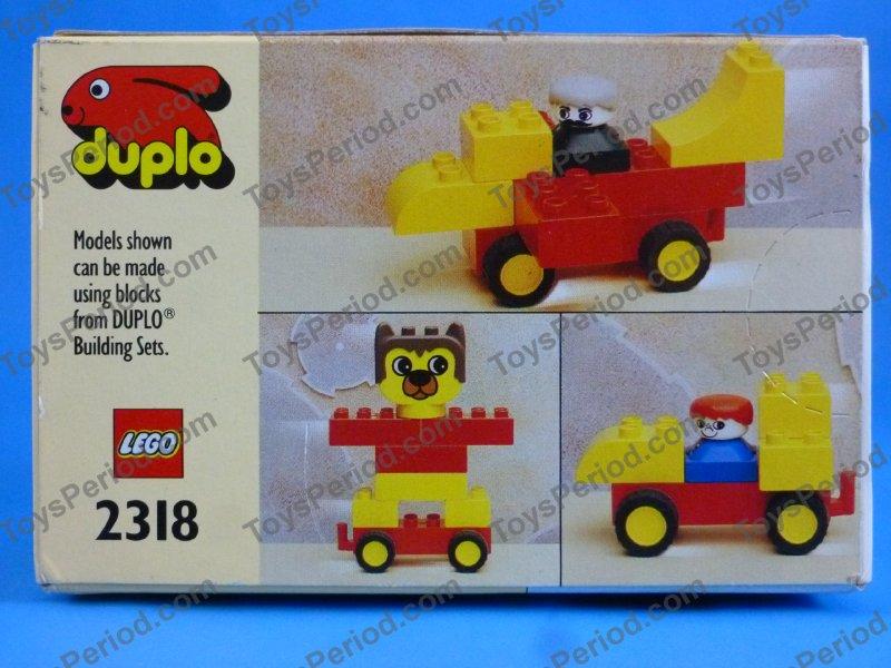 Lego 2318 Pull Back Motor Vintage 1992 Duplo Misb New Image Number 2
