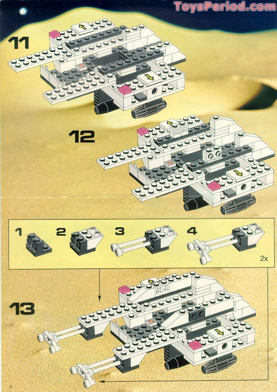 Lego 6932 Stardefender 200 Set Parts Inventory And