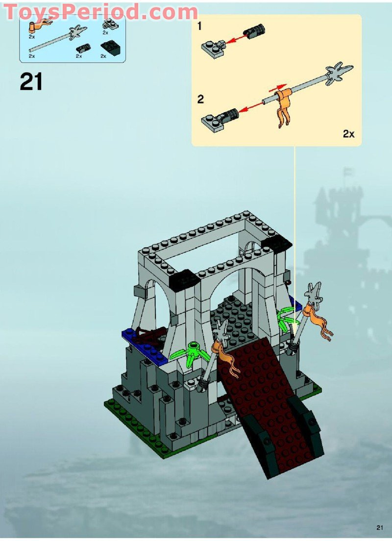 lego castle 7094 instructions