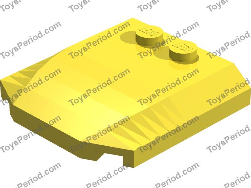 4 x 4 x 2//3 Triple Curved LEGO WEDGE Part 45677 Choose Colour J5