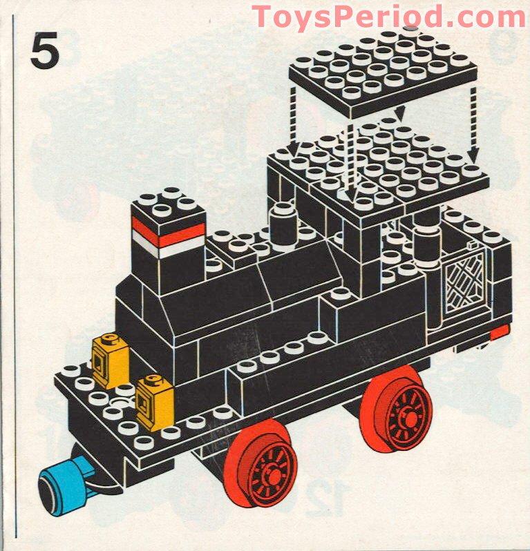 Lego ® Railway Chassis 6 x 16 4,5 Volt