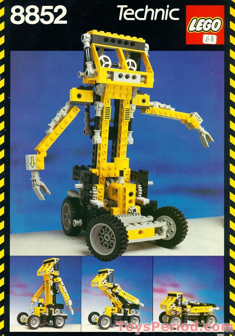 LEGO 8852 Robot Set Pa...