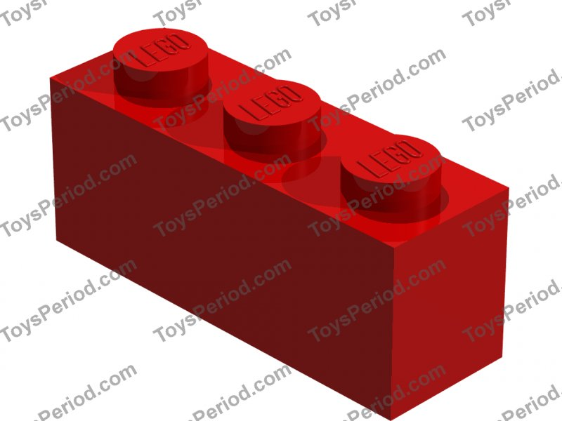 LEGO® Bright Pink Brick 1 x 3 Part 3622