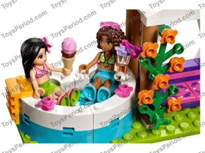 Lego 41313 Heartlake Summer Pool Set Parts Inventory And