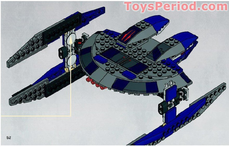Lego 8016 Hyena Droid Bomber Set Parts Inventory And Instructions