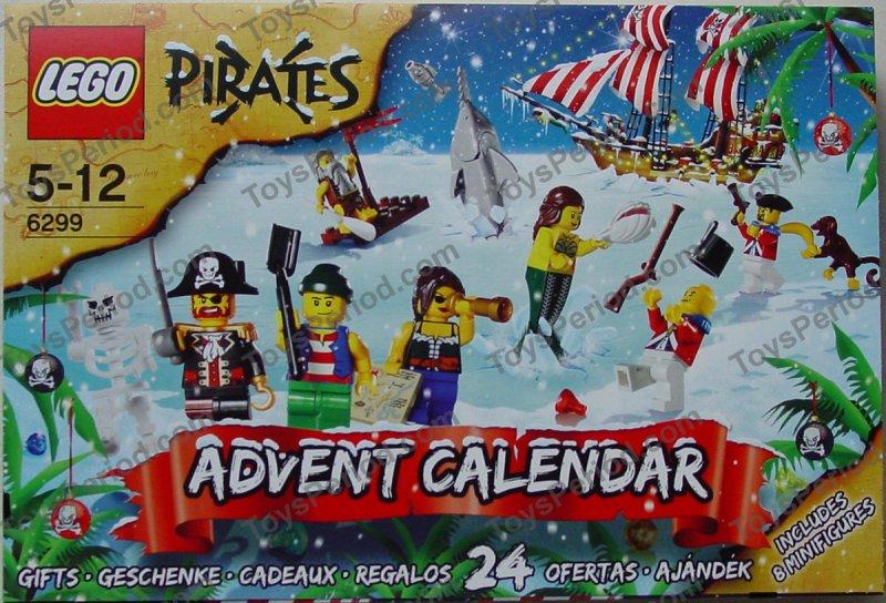 *NEW* Lego PIRATES ADVENT CALENDAR 2009 6299