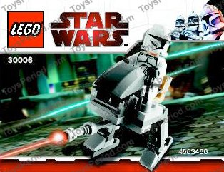 lego star wars clone walker instructions