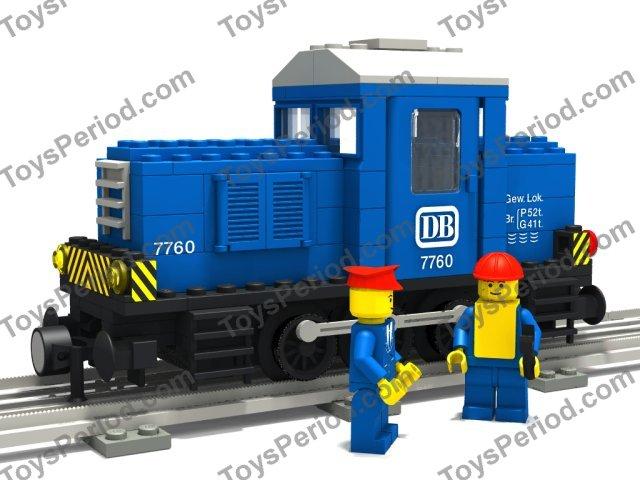 lego diesel train instructions