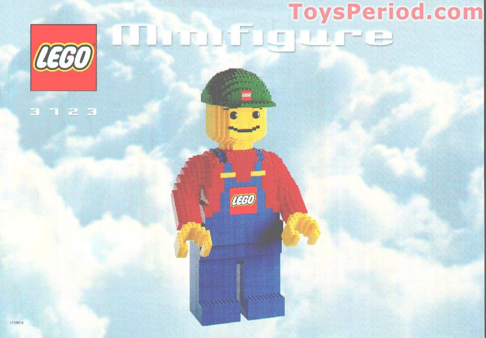 LEGO 3723 LEGO Minifigure Set Parts Inventory and Instructions ...