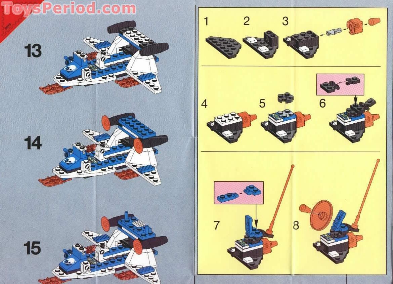 Lego ® recipe//instruction no 6879