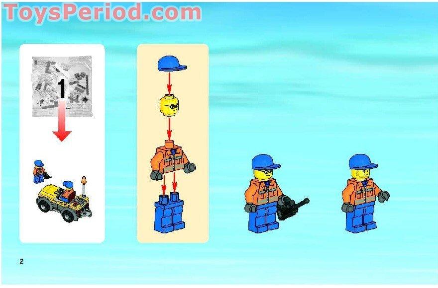 Lego 7734 Cargo Plane Set Parts Inventory And Instructions Lego
