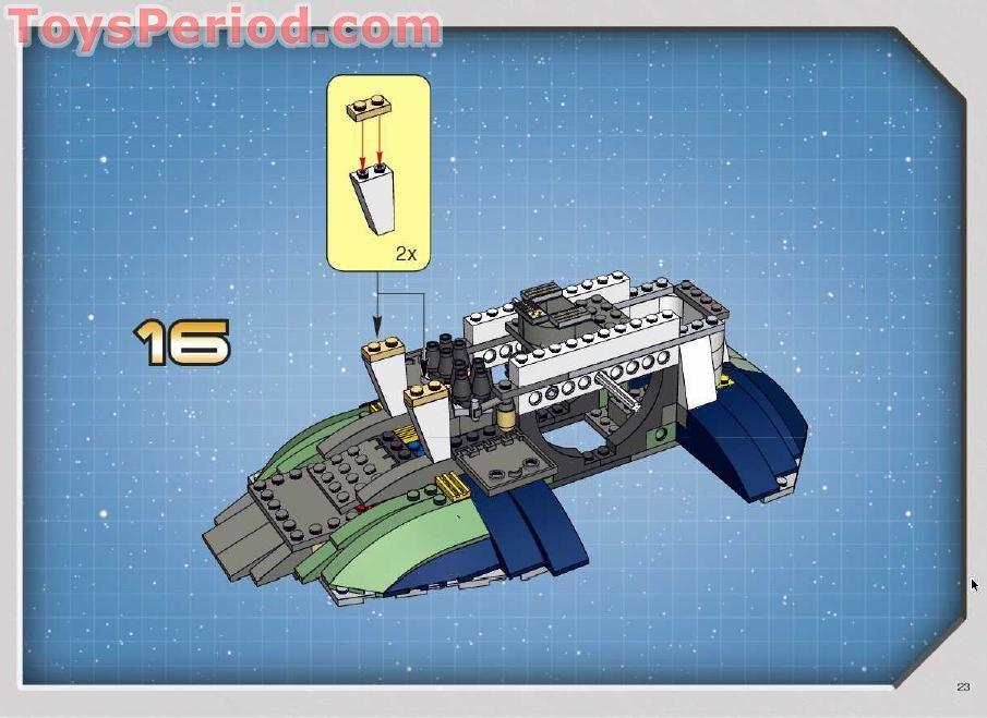 Lego 7153 Jango Fetts Slave I Set Parts Inventory And Instructions