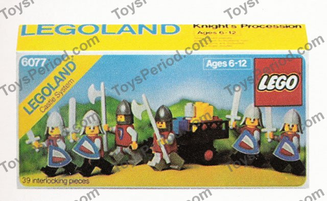 Lego Red // Grey Halves Castle Minifigure Shield Triangular 3846p47