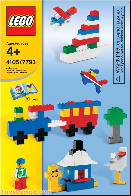 LEGO 4105-1 Imagine and Build Set Parts Inventory and ...