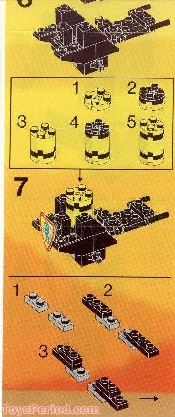 lego bow and arrow instructions