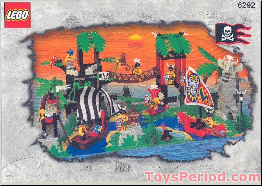 Lego 6292 Enchanted Island Set Parts Inventory And